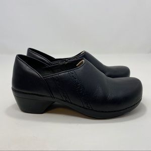Dansko Women's Black Slip On Shoes Size 9